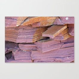 Sandstone Abstract Canvas Print
