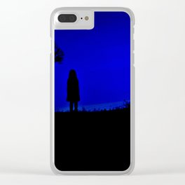 Witching Hour Clear iPhone Case