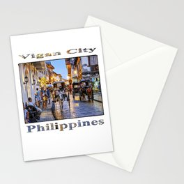Rush Hour in Vigan City Stationery Cards