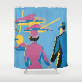 Handbook for the Recently Deceased Shower Curtain