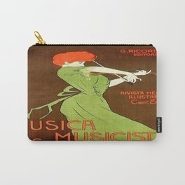Vintage poster - Musica e Musicisti Carry-All Pouch