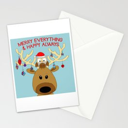 Merry Everything & Happy Always Stationery Cards