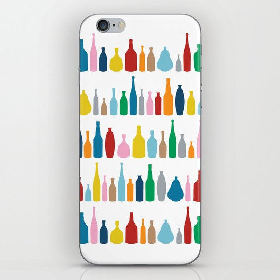 Bottles Multi iPhone & iPod Skin