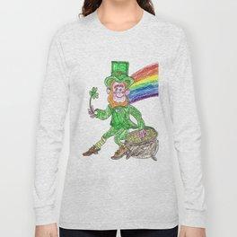 Lucky Leprechaun Long Sleeve T-shirt