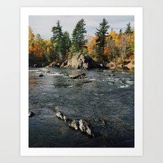Penobscot River Art Print