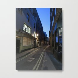 London Streets Metal Print