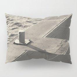 Sea Pier Geometry Pillow Sham