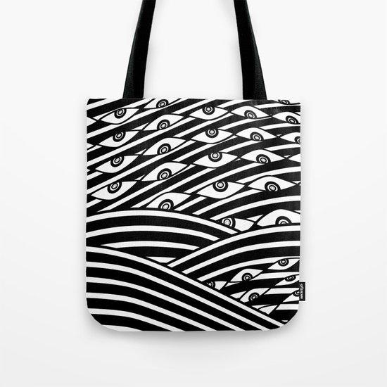 """Amok"" by Drew Litowitz Tote Bag"