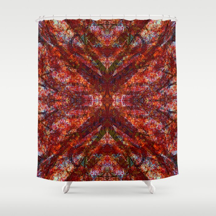 Fantasy's Fringe Shower Curtain
