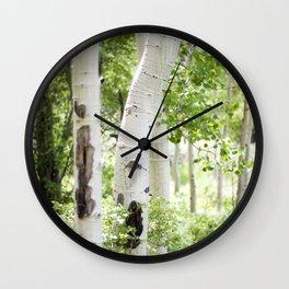 Aspens Wall Clock
