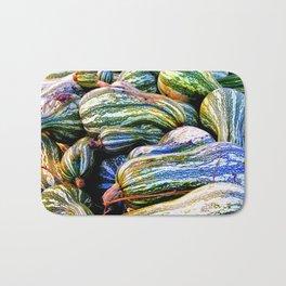 Green Striped Cushaw Bath Mat
