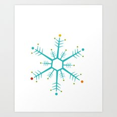 Holiday 2016: Snowflake Art Print