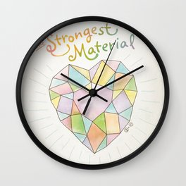 The Strongest Material Wall Clock