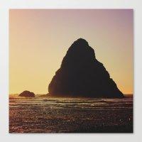 sylvia plath Canvas Prints featuring plath by courtjones_