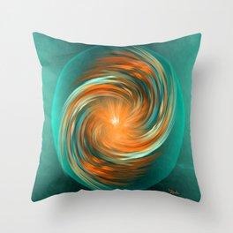The energy of joy Throw Pillow