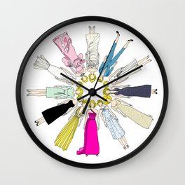 Blonde Bombshell Wall Clock