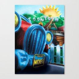Mickey's Jalopy Canvas Print