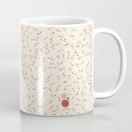 Light Background Dot Color Design Coffee Mug