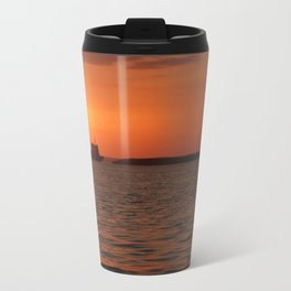 Sunset in Cuba Metal Travel Mug
