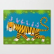 Tiger Transportation Canvas Print