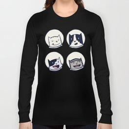 CatStronauts Team Heads Long Sleeve T-shirt