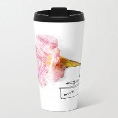 Victroflower Metal Travel Mug