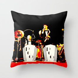 Cotton Club Crooners Throw Pillow
