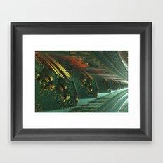 Cannon Battery (Painterly) Framed Art Print