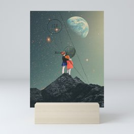 SPACE SCHOOLED Mini Art Print