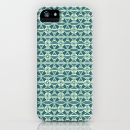 Spring Flower Damask Style Seamless Pattern iPhone Case