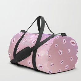 Ultra Punch Bloom in Space Duffle Bag