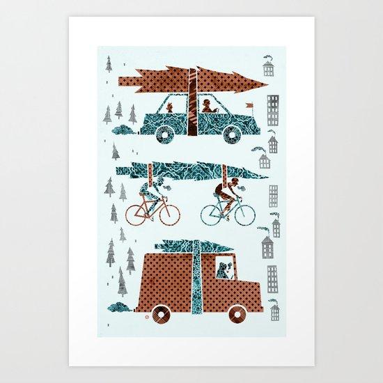 Tree Transportation Art Print