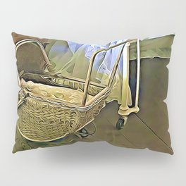 Once Upon a Time - Pram in the Nursery Pillow Sham