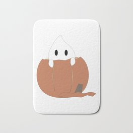 Peekaboo Ghost Bath Mat