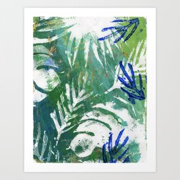 Rio Under the Canopy Art Print