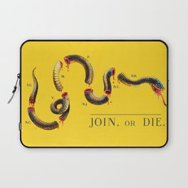 Join, or Die. Laptop Sleeve