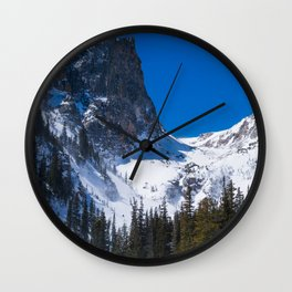 Rocky Mountain National Park Colorado Wall Clock