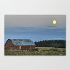 Vermont Full Moon Canvas Print