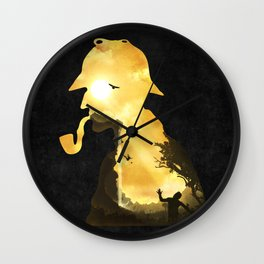 The Parting Hour Wall Clock