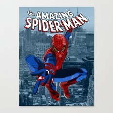 Amazing Spider-Man (Comic Title) Canvas Print