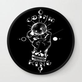 Cosmic King Wall Clock