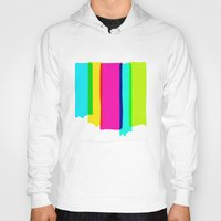the strokes Hoodies featuring Brush Strokes by Ulrika Bygge