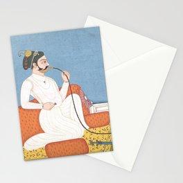 Hooka - Vintage India Art - 18th Century Stationery Cards