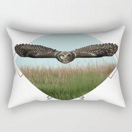 Northern Hawk Owl Rectangular Pillow