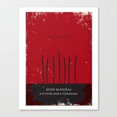 Seven Samurai Canvas Print