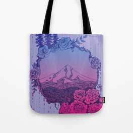 Rose City (Purple) Tote Bag