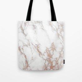 Rosey Marble Tote Bag