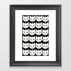cat-404 Framed Art Print