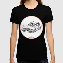 Crazy Car Art 0213 T-shirt
