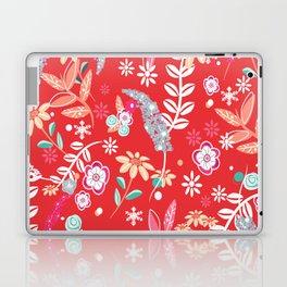 Christmas Floral pattern Laptop & iPad Skin